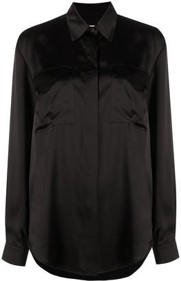 Jil Sander Chest-Pocket Long-Sleeved Shirt