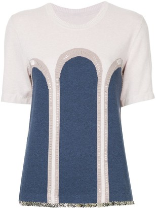 Onefifteen embellished knit T-shirt