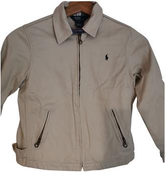 Polo Ralph Lauren Ecru Cotton Jackets & Coats