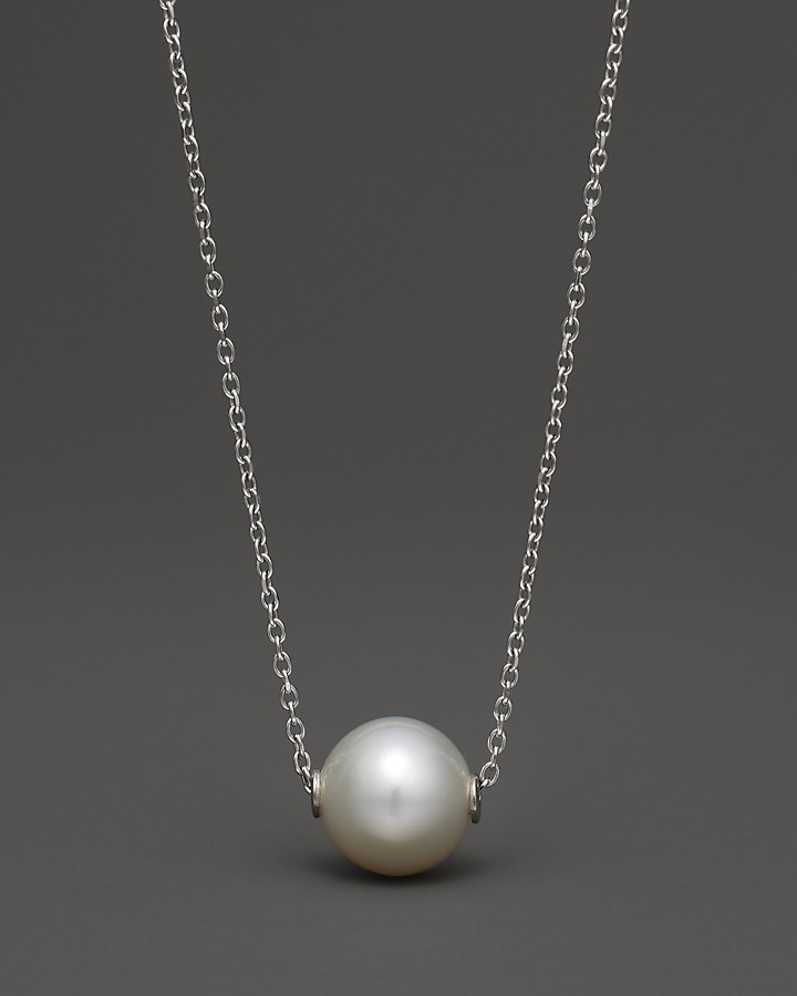 Bloomingdale's Cultured Freshwater Pearl Pendant Necklace
