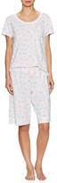 Midnight by Carole Hochman Strawberry Pajama Set