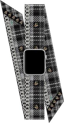 Wristpop Dionne Tartan 38mm/40mm Apple Watch(R) Scarf Watch Band