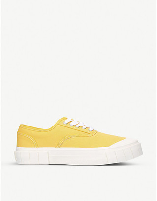 Good News Ace canvas trainers