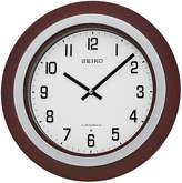 Seiko Brown Wall Clock With 18 Hi-Fi Melodies Qxm547blh