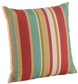 Avon Highland Dunes Indoor/Outdoor Striped Throw Pillow Highland Dunes