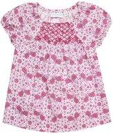 Jo-Jo JoJo Maman Bebe Butterfly Smocked Top (Baby)-Raspberry-6-12 Months
