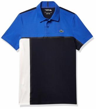 Lacoste Men's Sport Short Sleeve Tennis Colorblock Polo Shirt