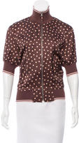 Jean Paul Gaultier Short Sleeve Polka Dot Top