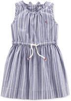 Carter's Striped Cotton Dress, Little & Big Girls