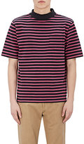 Sacai Men's Striped Cotton T-Shirt