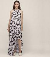 Reiss Megan Printed Maxi Dress