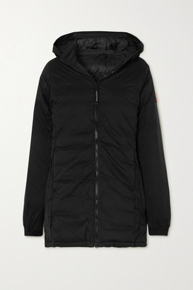 Canada Goose Camp Hooded Ripstop Down Jacket - Black