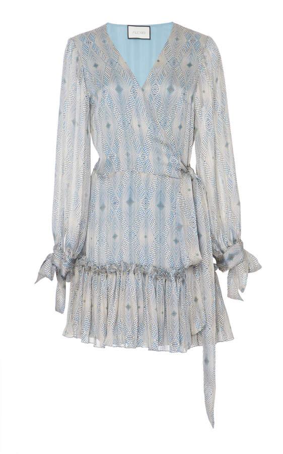 Alexis M'O Exclusive Tammie Wrap Mini Dress