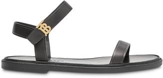 Burberry Monogram Motif flat sandals