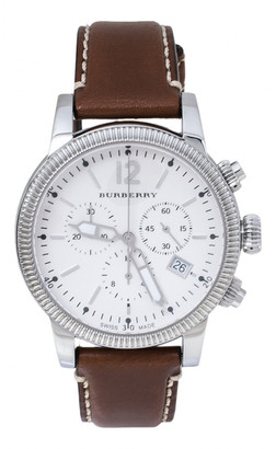 Burberry White Steel Watches