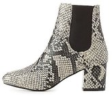 Charlotte Russe Faux Snakeskin Ankle Boots