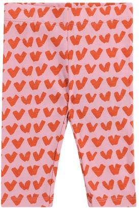 Stella McCartney Kids Baby printed cotton leggings