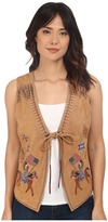 Double D Ranchwear Red Road Rider Vest