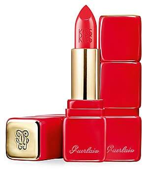 Guerlain Women's KissKiss Color of Kisses Creamy Satin Finish Lipstick - Pink