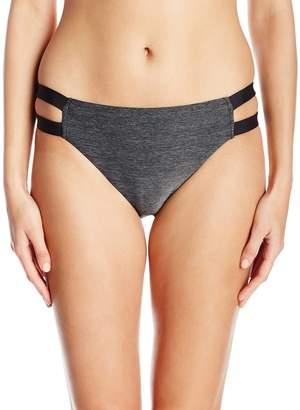 Jag Women's Spacey Solids Strappy Bikini Bottom