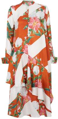 Palmer Harding Palmer/Harding Spicy Floral Shirt Dress