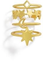 BaubleBar Charisma Ring Set