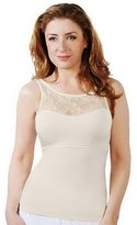 Spanx Hide and Sleek Lace Bateau Camisole 1503 QVC A214290