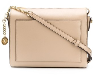 DKNY Zipped Leather Shoulder Bag