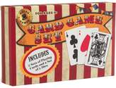 Vintage Red And White Stripe Learn To Play Set-Playing Cards