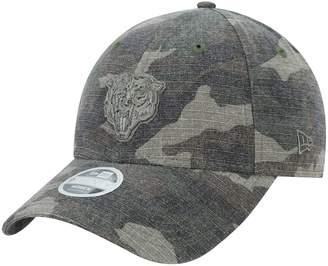 New Era Women's Camo Chicago Bears Core Classic Tonal Woodland 9TWENTY Adjustable Hat
