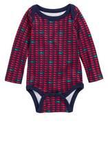 Vineyard Vines Infant Girl's Holiday Whale Bodysuit