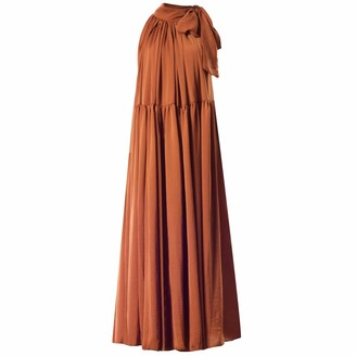 Meem Label Casee Tan Maxi Dress