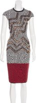 Kenzo Wool Embellished Dress