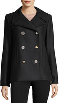ADAM by Adam Lippes Lindas Double-Breasted Pea Coat
