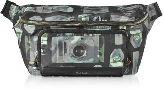 Paul Smith Pauls Camera Printed Canvas Mens Belt Bag