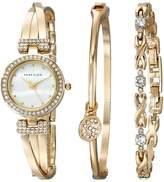 Anne Klein Bangle Watch and Bracelet Boxed Set Jewelry Sets