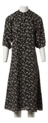 Celine Black Viscose Dresses