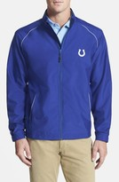 Cutter & Buck Men's Big & Tall Indianapolis Colts - Beacon Weathertec Wind & Water Resistant Jacket
