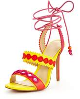 Forever Unique Harlem Tie Up Heeled Sandal