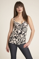 Velvet Sabiya Tank Top in Black