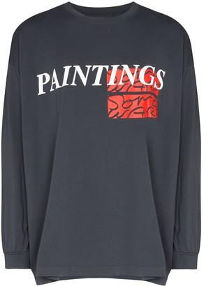 Some Ware slogan print long-sleeve T-shirt
