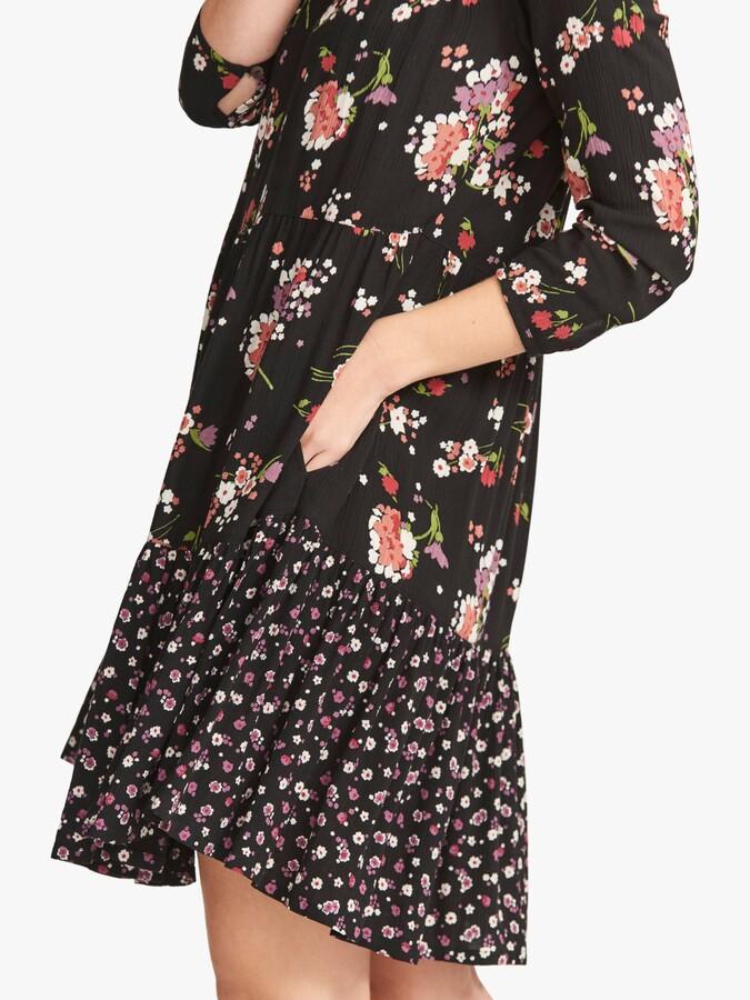 Thumbnail for your product : Fat Face FatFace Emilie Spring Floral Mini Dress, True Black