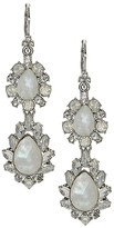 Marchesa Double Drop Statement Earrings