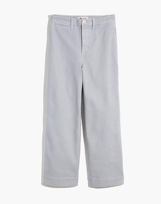 Madewell Slim Emmett Wide-Leg Crop Pants