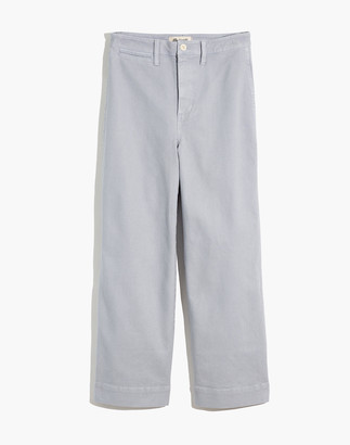 Madewell Tall Slim Emmett Wide-Leg Crop Pants