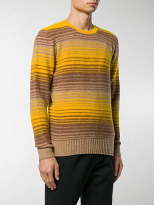 Drumohr Stripe Knit Jumper