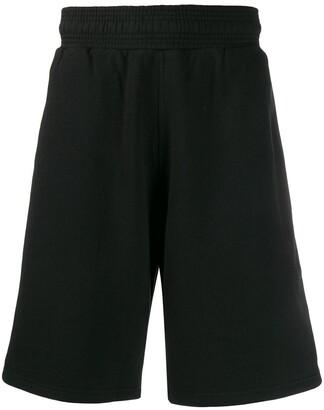 Givenchy Split Patch Logo Track Shorts