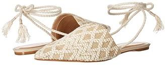 Massimo Matteo Basket Two-Tone Flat (Off-White) Women's Shoes