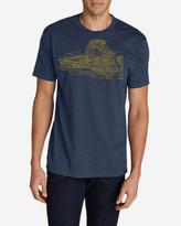 Eddie Bauer Men's Graphic T-Shirt - Sketched Arches
