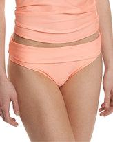 Splendid Hamptons Banded Swim Bottom, Tangerine